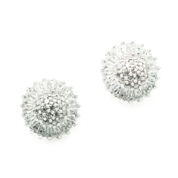 Sterling Silver Dandelion Stud Earrings - Tioneer