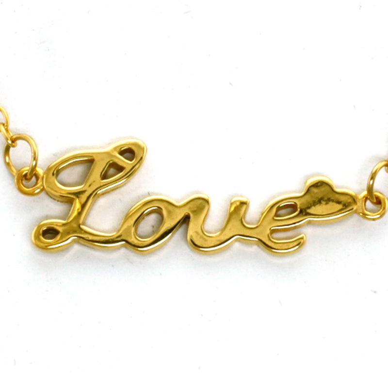Stainless Steel Inspirational Love Charm Necklace Pendant - Tioneer