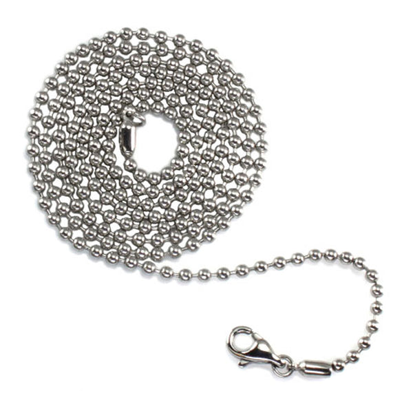 Stainless Steel 2.4 MM Bead Ball Chain - Tioneer