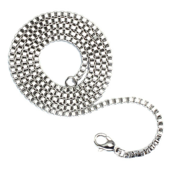 Stainless Steel 2.4 MM Box Chain - Tioneer