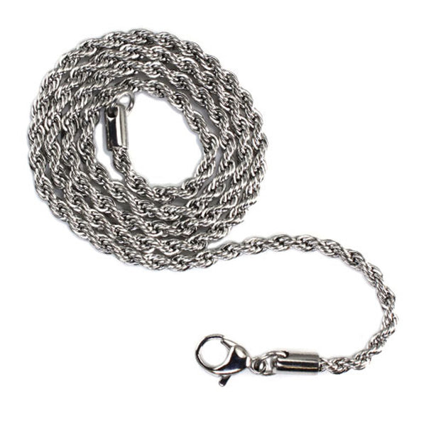 Stainless Steel 4.0 MM Rope Chain - Tioneer