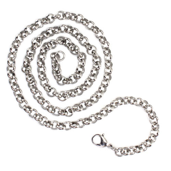 Stainless Steel 6.0 MM Rolo Chain - Tioneer