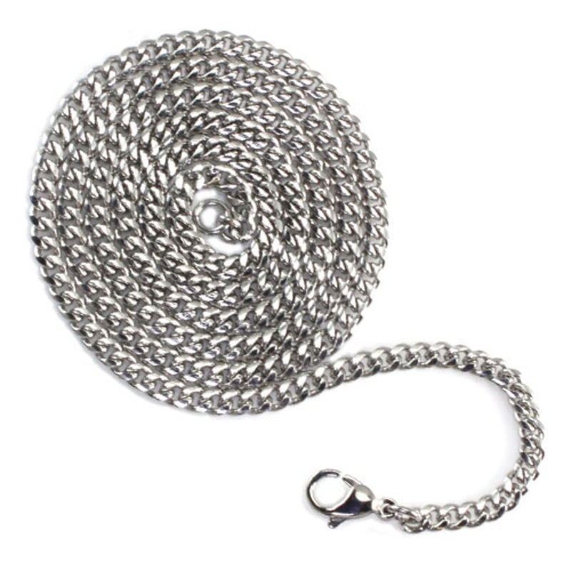 Stainless Steel 3.5 MM Curb Chain - Tioneer