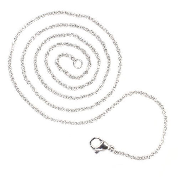 Stainless Steel 1.5 MM Oval Cable Chain - Tioneer