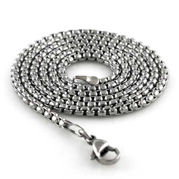 Stainless Steel 3 MM Snake Chain - Tioneer