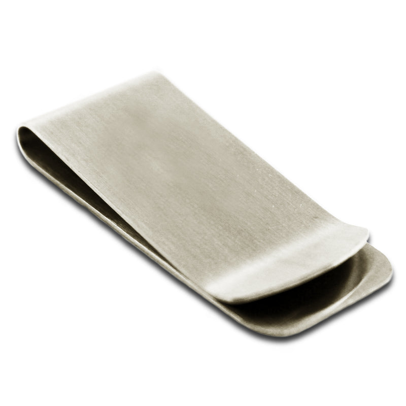 Stainless Steel Engravable Money Clip Credit Card Holder - Tioneer