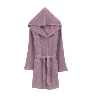 LILY-Hooded Spa/Pool/Beach Bathrobe