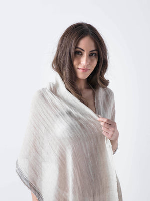 NEW YORK-Linen Scarf/cover up