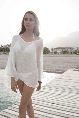 BARBUDA- Elegant short dress