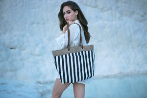 PARIS-Reversible Beach bag