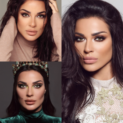 nadine nassib njeim eyes color lenses