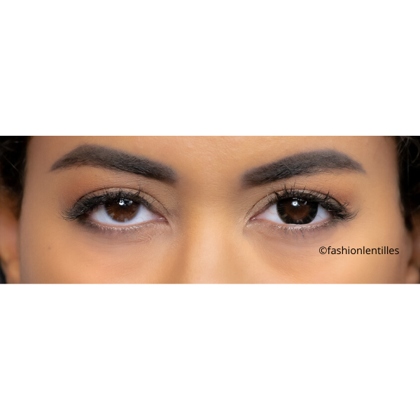 Be a real doll with Black Circle Contacts