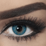 Bella Lenses Elite Natural Blue (Blue Contacts) - 3 Months Use