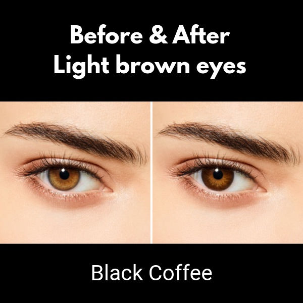 brown contacts desio lenses black coffee