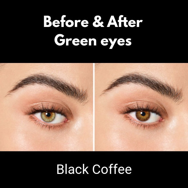 brown lenses desio black coffee
