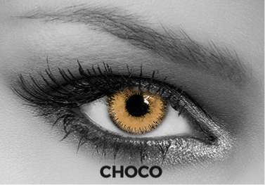 Brown Contact Lenses Soleko - Queen's Trilogy Choco 1 Month