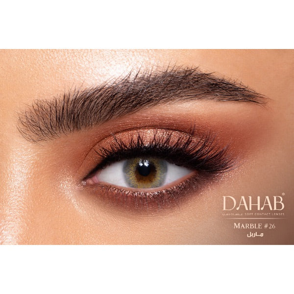 Contact Lenses Dahab Gold Marbel - 6 Months Use