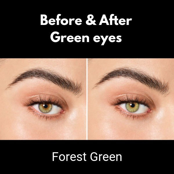 contact lenses desio sensual beauty forest green on green eyes