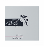 Brown Contact Lenses Bella Natural Hazel Three-Monthly at good value