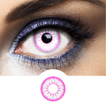 pink color lenses for cosplay