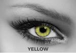 Yellow Contact Lenses Soleko Queen's Twins - Yellow 1 Month