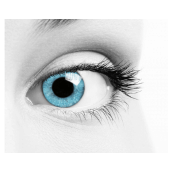 Blue Contact Lenses Soleko Queen's Oros Siberian Blue - 1 Month