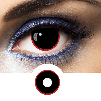dark look contact lenses
