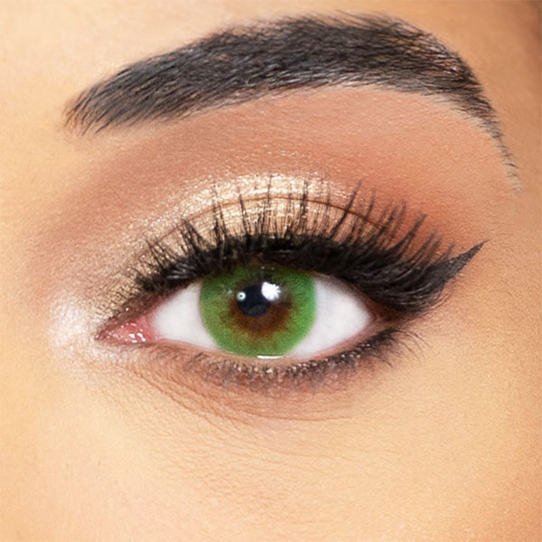 Green Contact Lenses Obsession Paris Sensuality Emerald - 3 Months Use