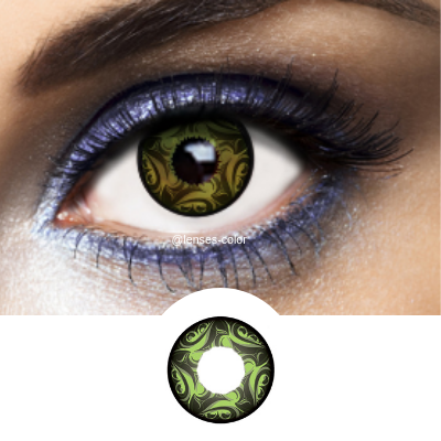 Green Contact Lenses Sydney Green - 1 Year
