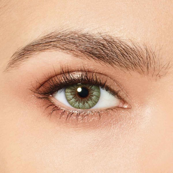 green eyes desio sensual beauty forest green