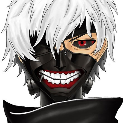 black and red crazy contact ken keneki manga tokyo ghoul