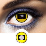Black and Yellow Contacts Sage - Naruto - Crazy Lenses of 1 Year Use