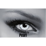 Gray Contact Lenses Soleko Queen's Solitaire Pearl - 3 Months Use