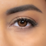 how look brown color contact lenses ?