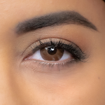 Beautiful Brown Eyes with Natural Diamonds Outlet