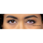 Amazing Pink Contacts Natural Diamonds with black contour Outlet
