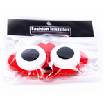 red case holder for lenses