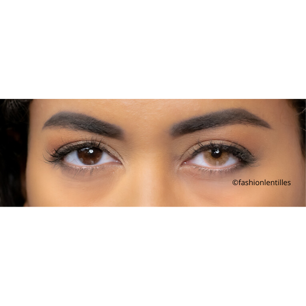 Beautiful Eyes with Natural Soft Gold outlet
