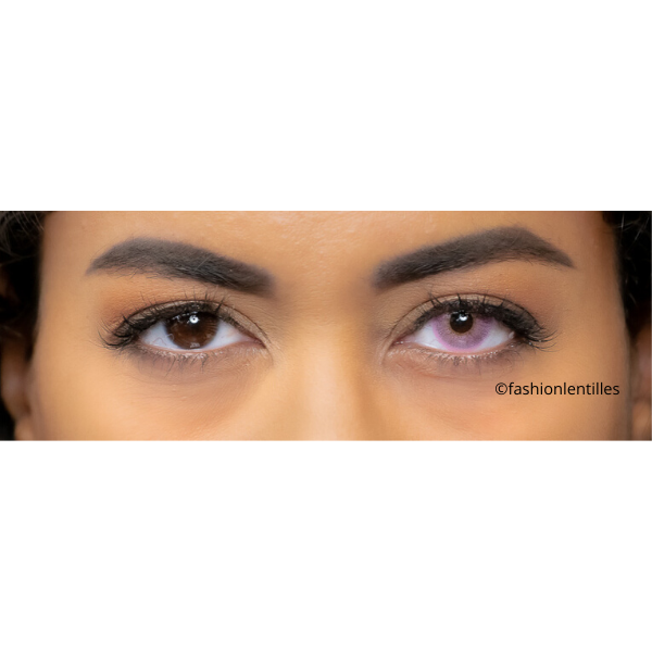 Pink Contact Lenses Natural Soft Pink - 1 Year