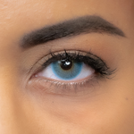 Blue Contact Lenses Natural Soft Sea - 1 Year