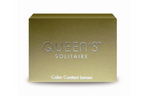 Green Toric Contact Lenses Soleko Queen's Solitaire Jade - 3 Months Use