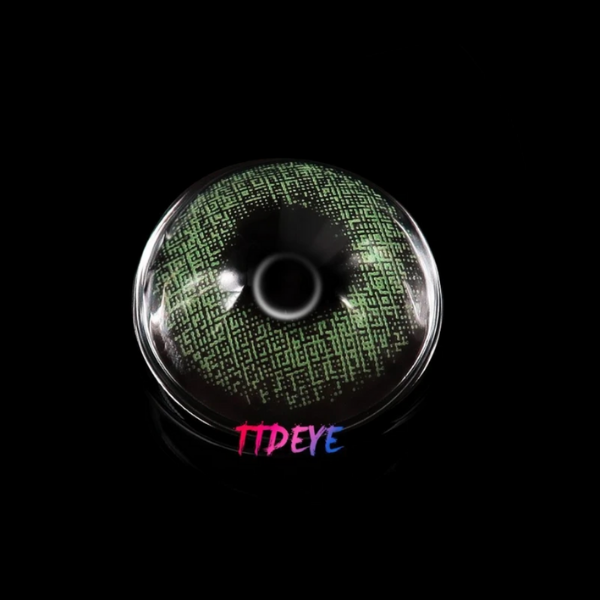 preview green color lenses ttdeye