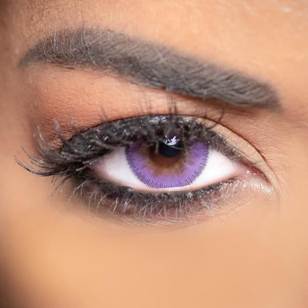 Pink Contact Lenses Obsession Paris Seduction Lavender - 3 Months Use