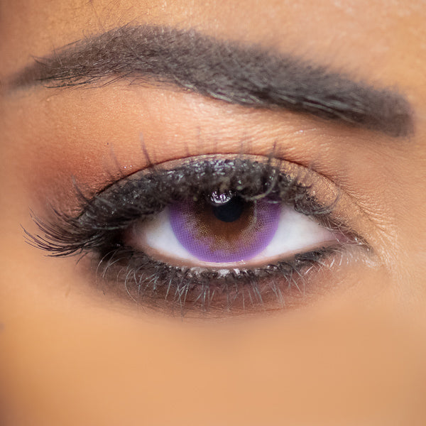 violet color lenses Obsession Paris Sensuality Amethyst