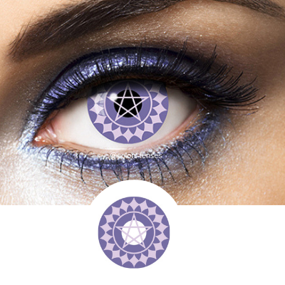 Violet Contacts Black Butler - Crazy Lenses of 1 Year Use