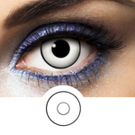 white contact lenses with contour