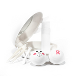 original case holder rabbit for contact lenses