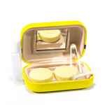 yellow kit contact lenses holder The Minions