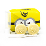 The Minions contact case holder yellow