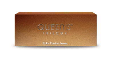Amplify your eyes with Contacts Soleko Queen's Trilogy
